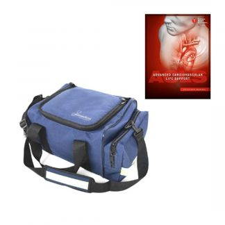 Bolso Rescate Azul Simmedical + Manual ACLS PACK